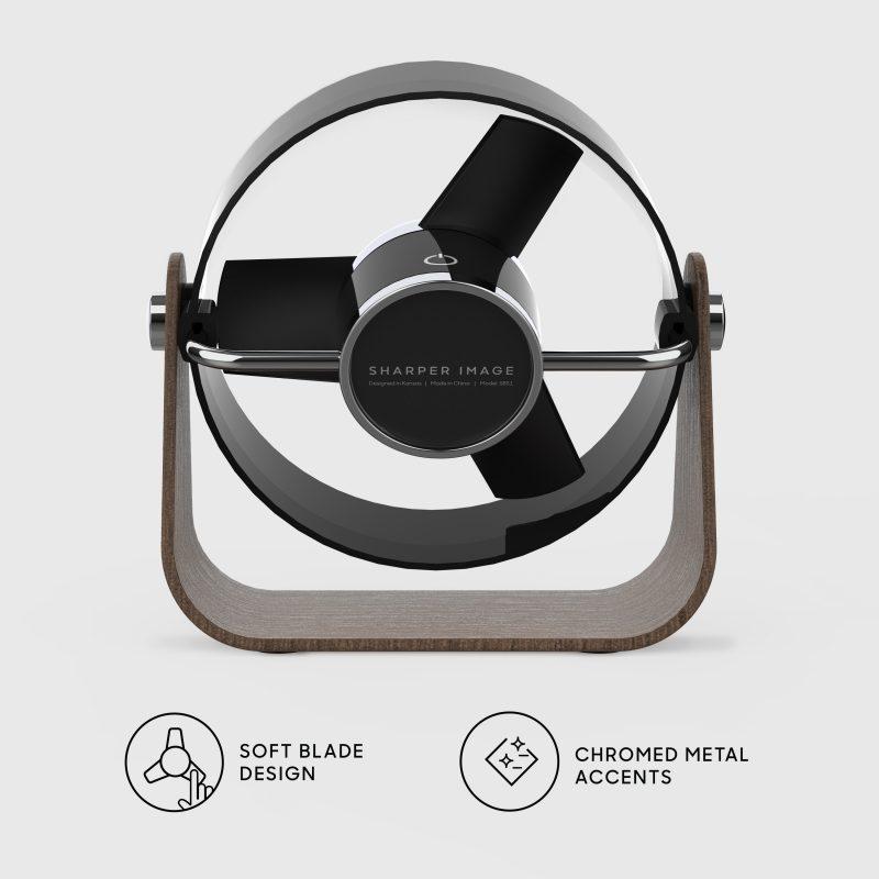 SBS2-SI Personal Soft Blade USB Fan Back - black