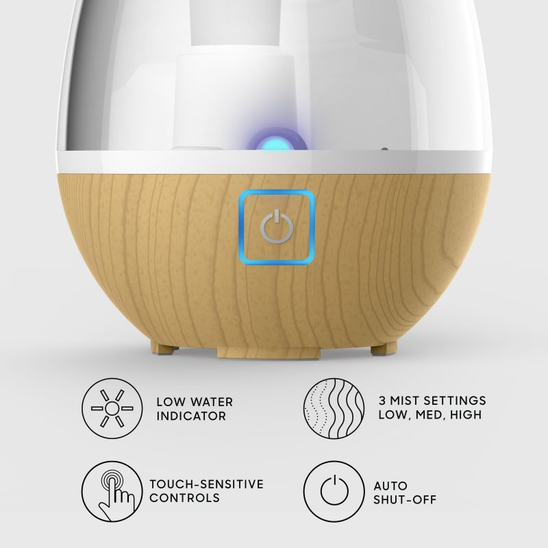 UHT1-SI Ultrasonic Humidifier Features
