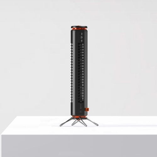 Sharper Image AXIS 12 Desktop Airbar USB Tower Fan