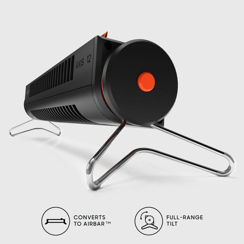Sharper Image AXIS 12 Desktop Airbar USB Tower Fan Horizontal